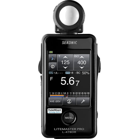 Sekonic Litemaster Pro L-478DR Light Meter (CE Version)