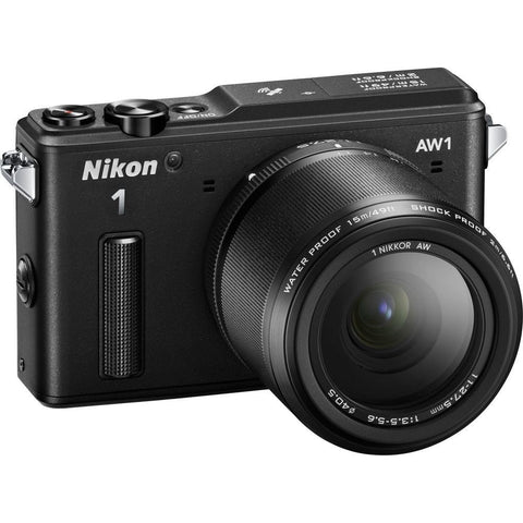 Nikon 1 AW1 14.2 MP Waterproof Digital Camera with 11-27.5mm Lens