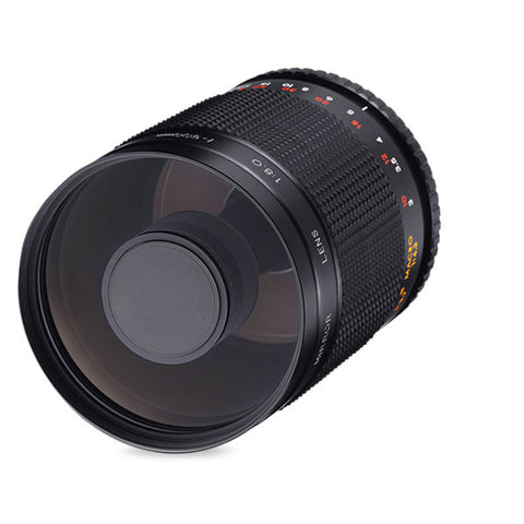 Samyang 500mm MC IF f/8 Mirror lens Bundle T2 Mount Adapter