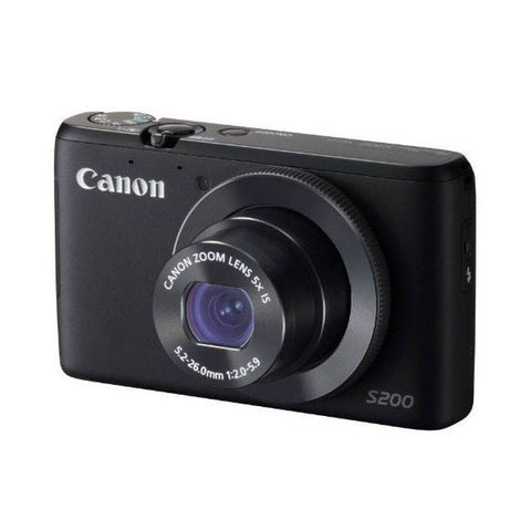 Canon PowerShot S200 10 MP Compact Digital Camera