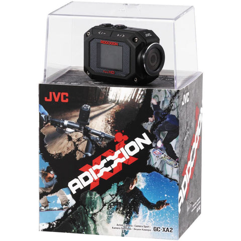 JVC GC-XA2 Camera Bundle with BN-VH105 BATTERY & MT-SC001 SUCTION