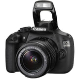 Canon EOS 1200D 18.0 MP DSLR Camera Kit with EF-S 18-55mm IS II Lens