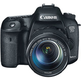 Canon EOS 7D Mark II DSLR Camera with 18-135mm Lens