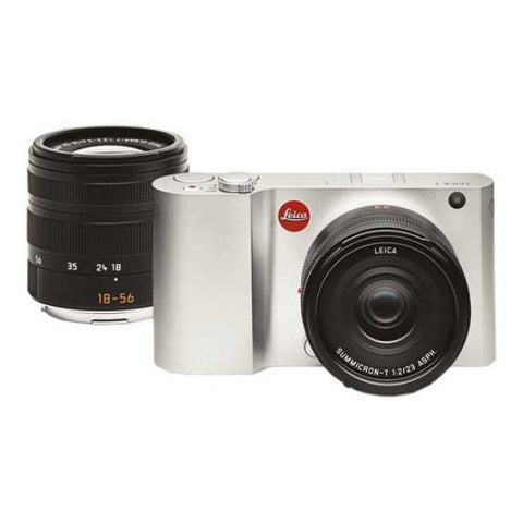 Leica T (Type 701) Camera Twin Kit with 23mm & 18-56mm Lens