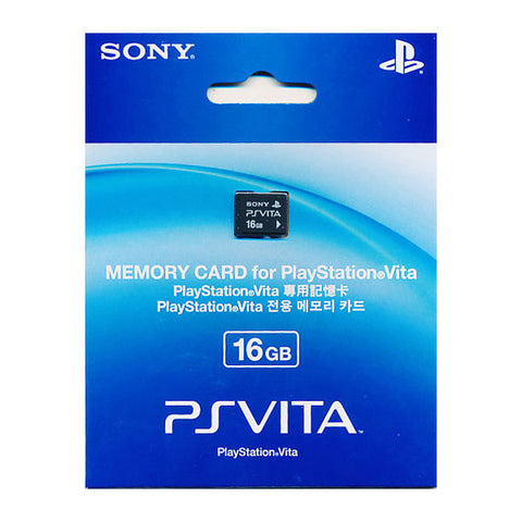 100% Official Sony PS Vita Memory Card PSV Brand New Sealed