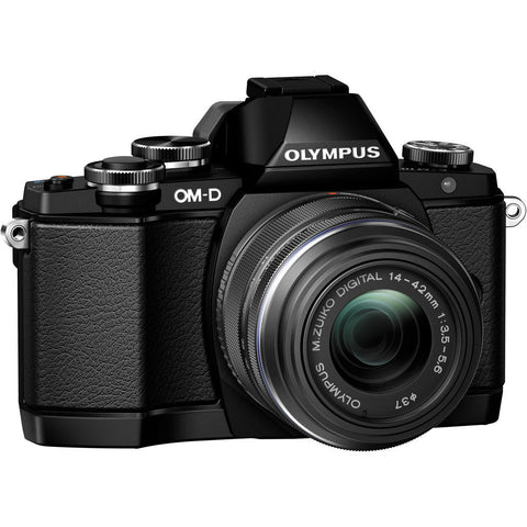 Olympus OM-D E-M10 Mirrorless Camera with 14-42mm Lens