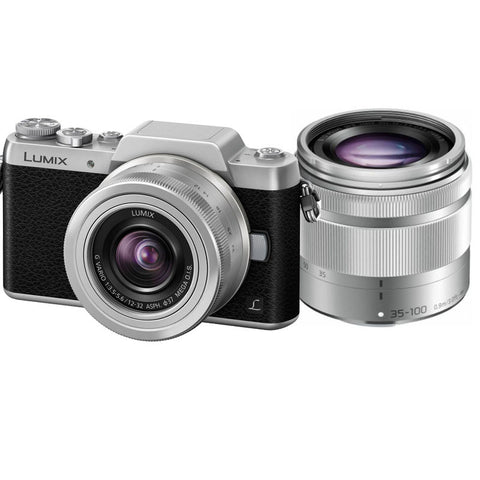 Panasonic Lumix DMC-GF7 with 12-32mm & 35-100mm Twin Lens Kit