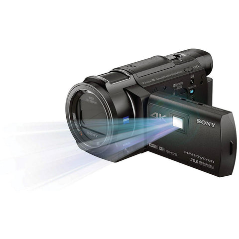 Sony FDR-AXP35 4K 64GB Camcorder with Built-In Projector PAL