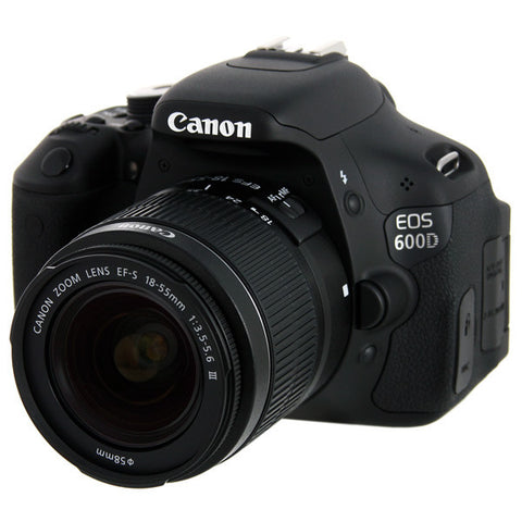 Canon EOS 600D Digital Camera Wit 18-55mm III Lens Kit