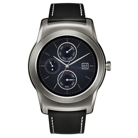 LG Watch Urbane Smartwatch with Brown Strap