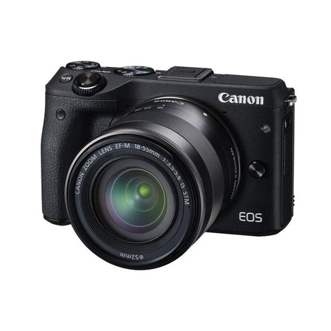 Canon EOS M3 Mirrorless Camera 18-55mm Lens Kit