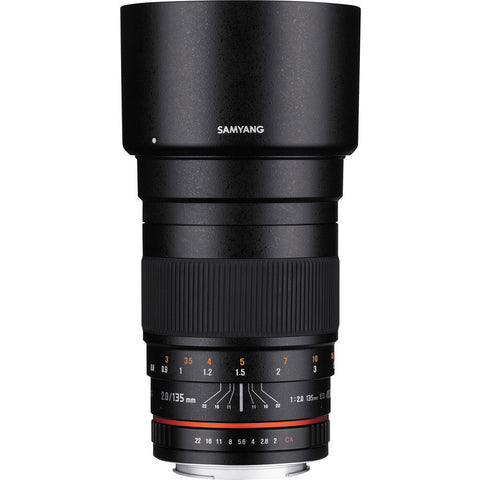 Samyang 135mm f/2.0 ED UMC Lens for with AE Chip