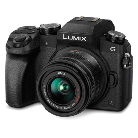 Panasonic Lumix DMC-G7 Mirrorless Micro Four Thirds Digital Camera with 14-42mm Lens