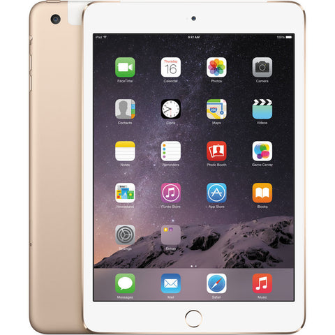 Apple 128GB iPad mini 4 (Wi-Fi + 4G LTE,)