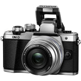 Olympus OM-D E-M10 Mark II Mirrorless Micro Four Thirds Digital Camera with 14-42mm Lens