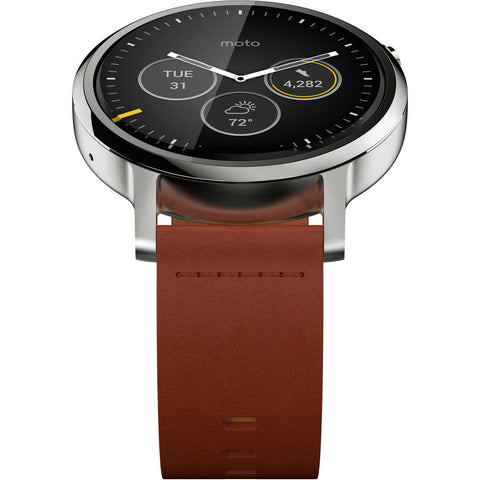 Motorola 2nd Gen Moto 360 46mm Men's Smartwatch ( Band)