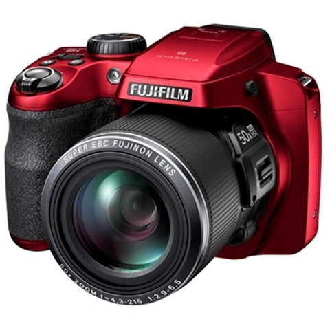 "Fujifilm FinePix S9200 50x Zoom 16.2 MP 3"" Digital Camera"