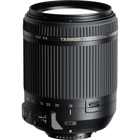 Tamron 18-200mm f/3.5-6.3 Di II VC (B018) Lens for Nikon F