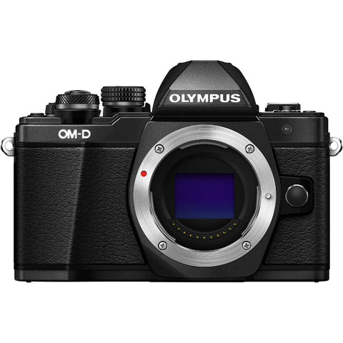 Olympus OM-D E-M10 Mark II Mirrorless Camera with 12-40mm Lens Kit