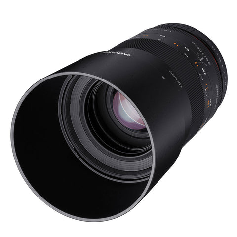 Samyang 100mm f/2.8 ED UMC Macro Lens for