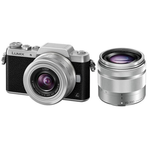 Panasonic GF8 Camera Twin Lens Kit 12-32mm 35-100mm