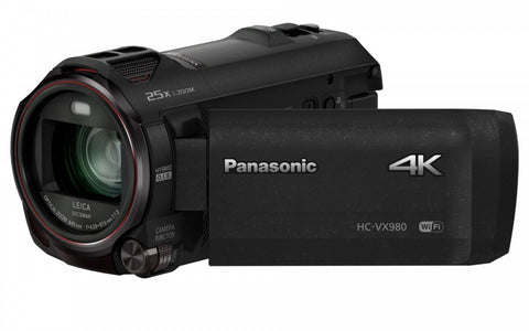 Panasonic HC-VX980 4K Ultra HD Camcorder PAL