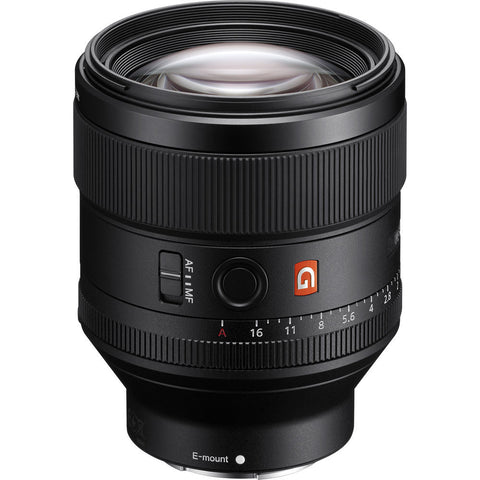 New Sony FE 85mm f/1.4 GM Lens