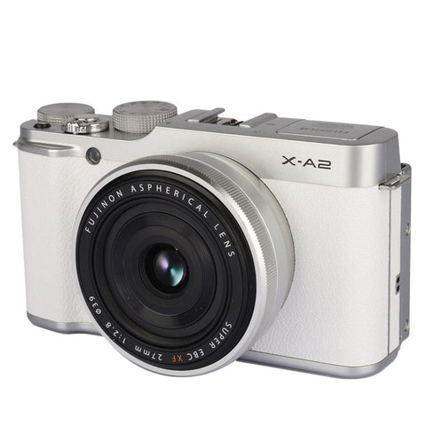 Fujifilm X-A2 Mirrorless Digital Camera with 27mm Lens Kit