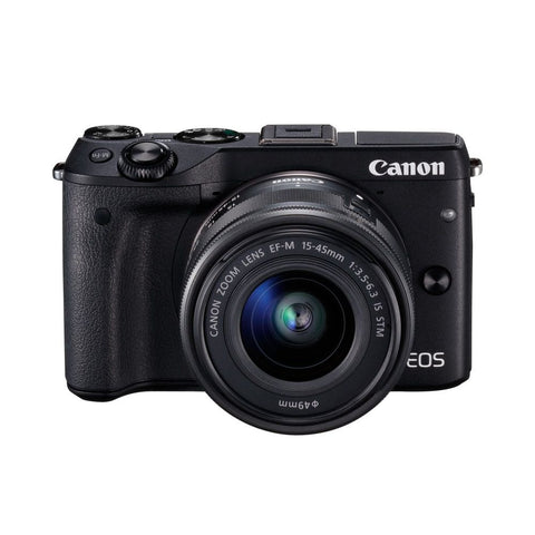 Canon EOS M3 Mirrorless Camera EF-M 15-45mm Lens Kit