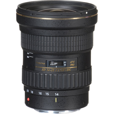 Tokina AT-X 14-20mm f/2 PRO DX Lens for