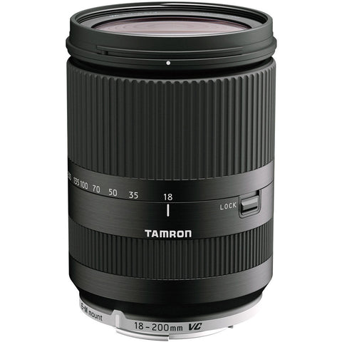 Tamron 18-200mm f/3.5-6.3 Di III VC Lens for Canon EF-M Mount