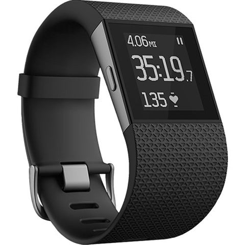 New Fitbit Surge GPS Activity Tracking Watch Large