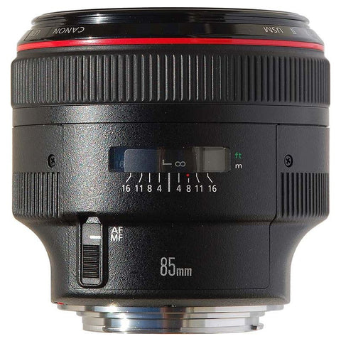Canon EF 85mm f/1.2 L II USM Medium Telephoto Lens