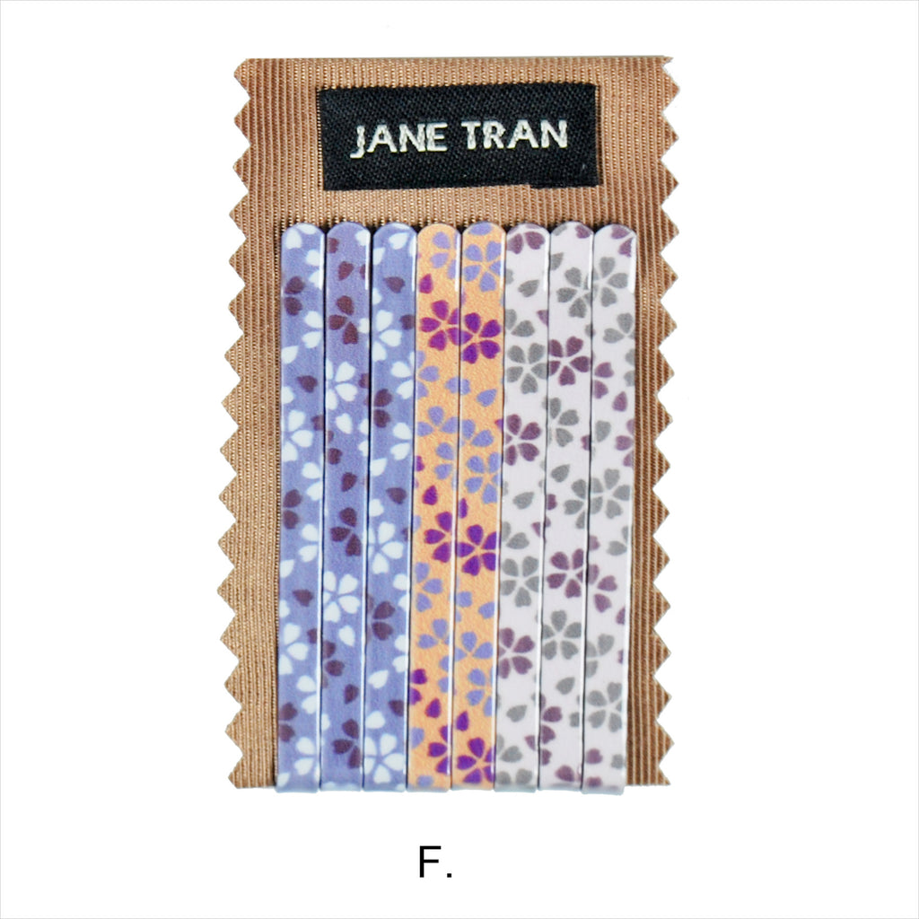 Flower Print Bobby Pin Set