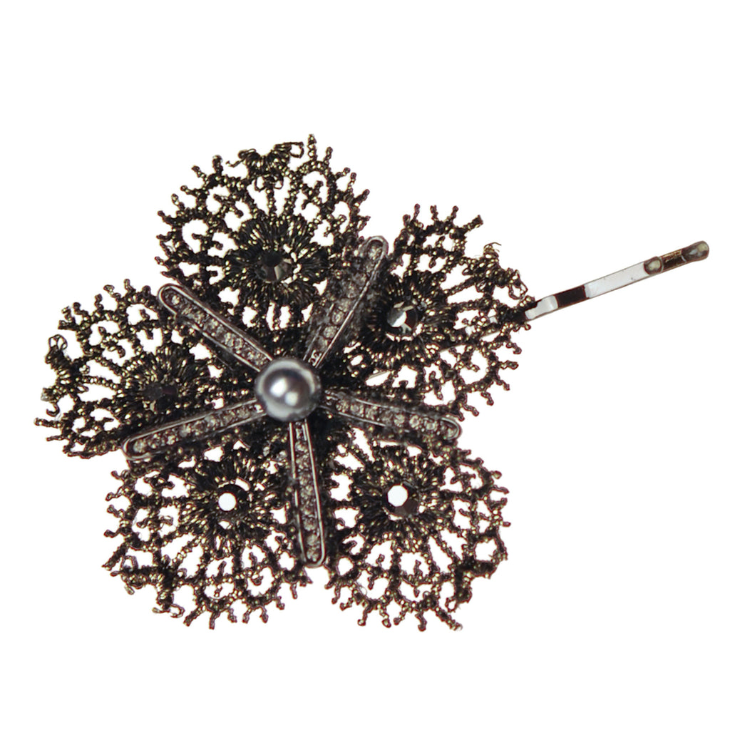 Starflower Lace Bobby Pin