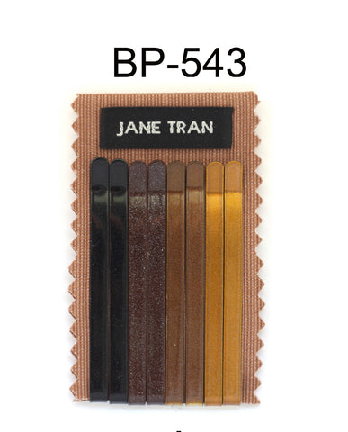 Jane Tran Metallic Finish Bobby Pin Set