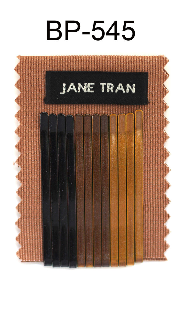 Jane Tran Metallic Finish Bobby Pin Set 2
