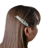 Chevron Feather Clip