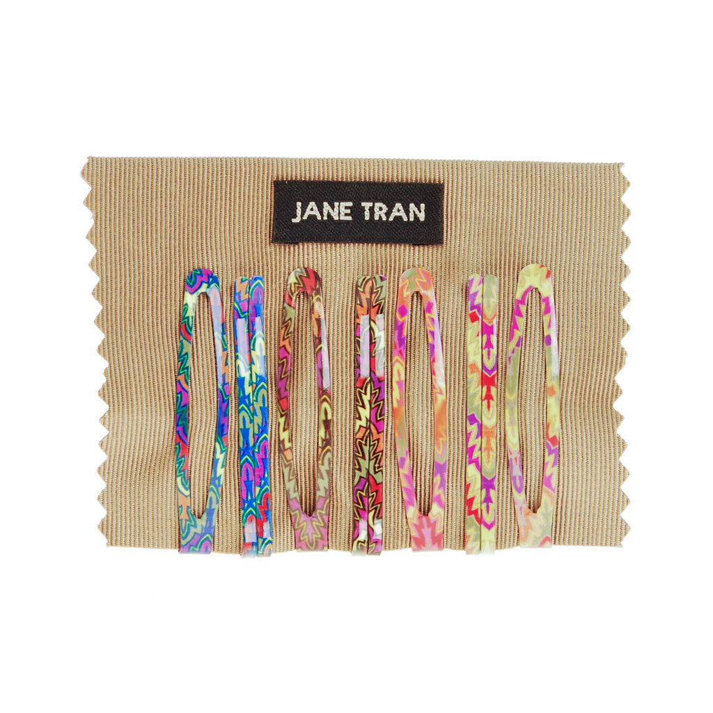 Assorted Abstract Modern Print Clip Set