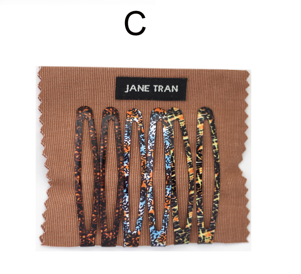 Jane Tran Abstract Assorted Clip Set C