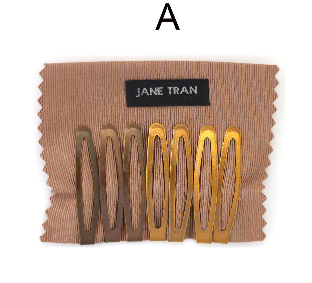 Jane Tran Metallic Finish Assorted Clip Set A