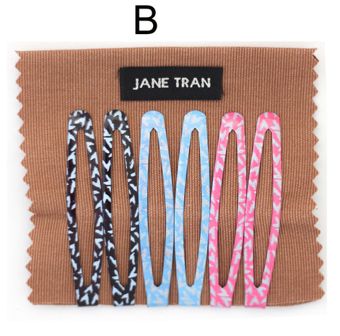 Copy of Jane Tran Abstract Assorted Clip Set B