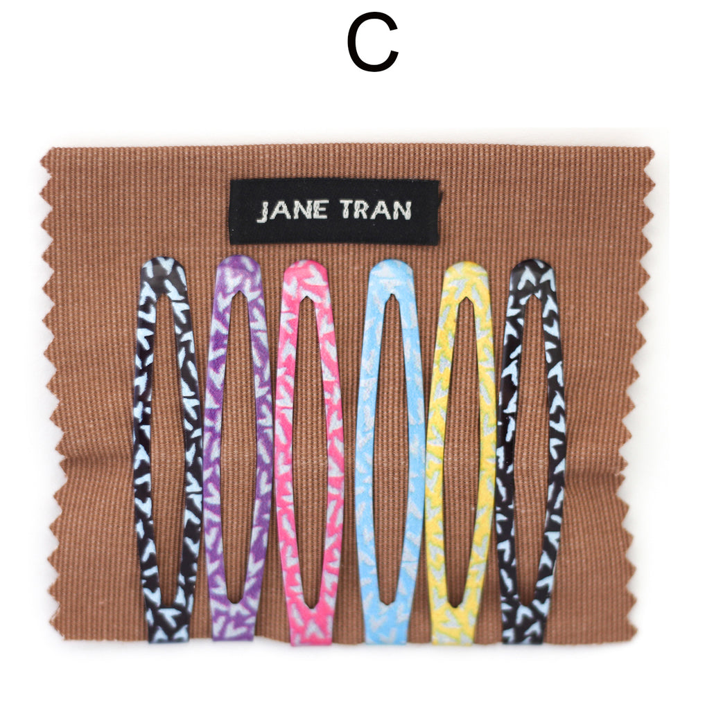 Copy of Copy of Jane Tran Abstract Assorted Clip Set C