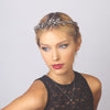 Crystalline Cluster Tie-back Headband