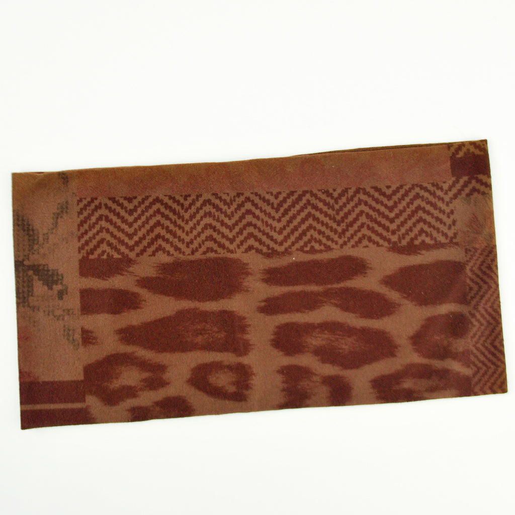 Vintage Patch Print Headwrap
