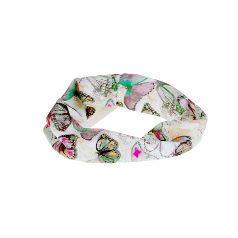 Butterfly Nylon Headwrap