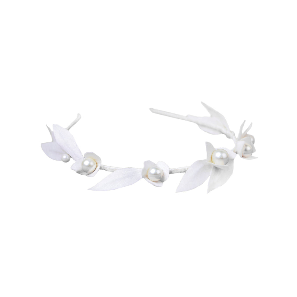Pearls & Petals Headband