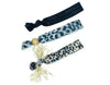 Assorted Jeweled Knotted Hair Ties