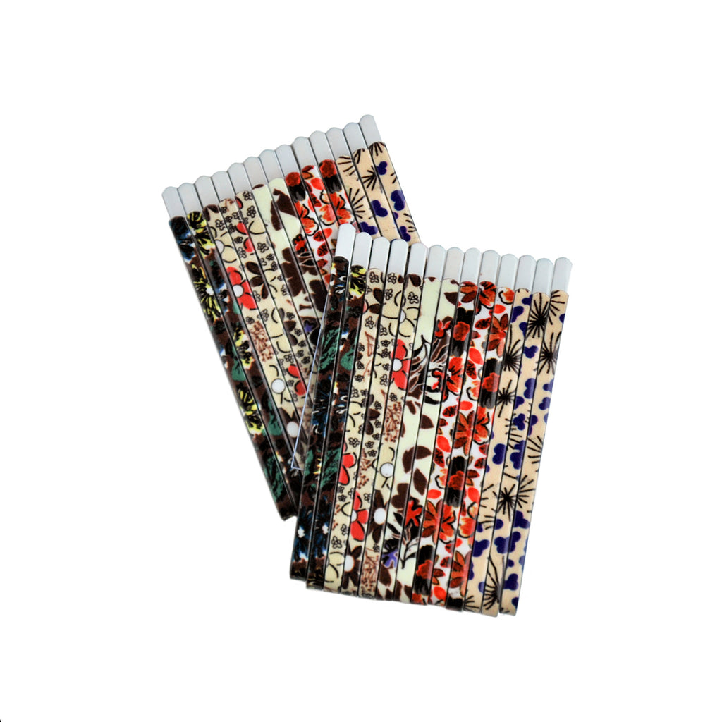 Assorted Modern Floral Print Bobby Pin Box