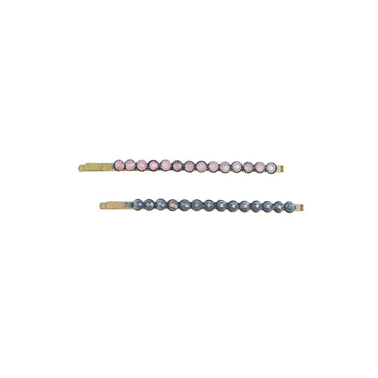 Mixed Set Ornamental Bead Bobby Pin